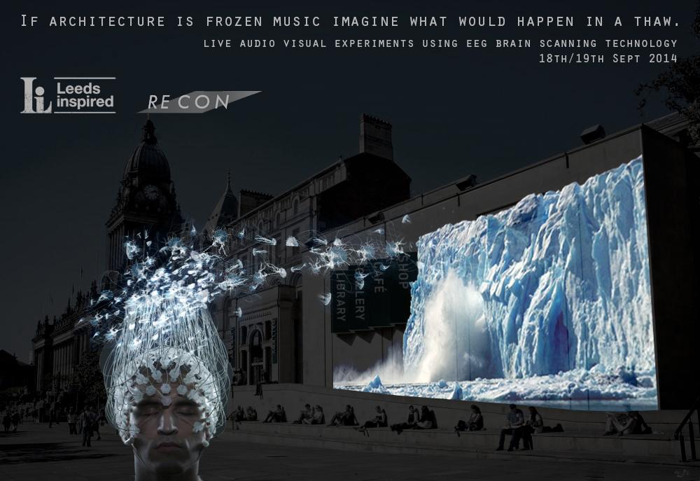 Frozen Music promo pic logos